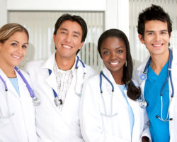 four medical practitioners